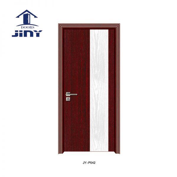Carving PVC Skin Door JY-P042 factory