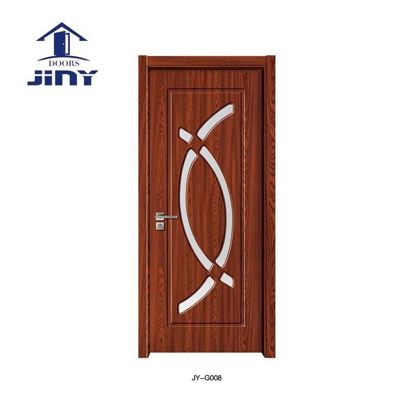 Modern Glass Wood Door