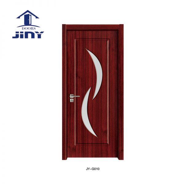 MDF Glass Wood Door