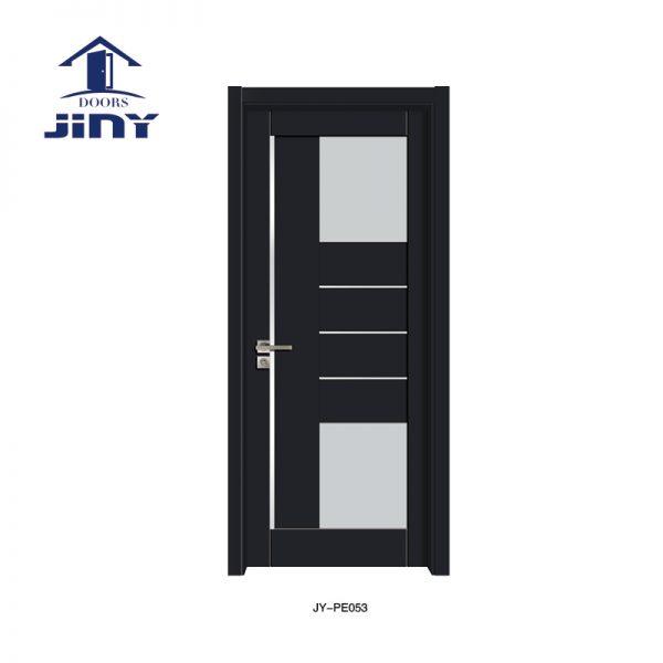 Solid Core Glass Door